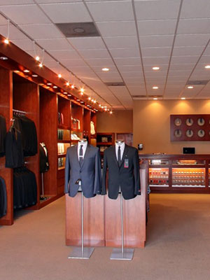 formally modern tuxedo Clybourn Downtown Chicago